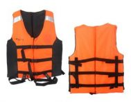 Life Jacket Curve Orange Murah