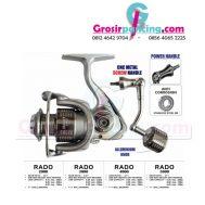 Reel Kenzi Rado Spin Power Handle
