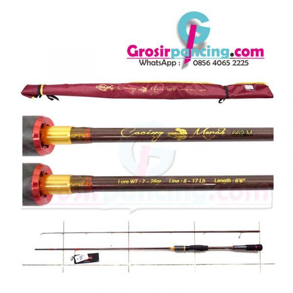 Joran Cacing Merah Relix Nusantara 7-28gr 662S